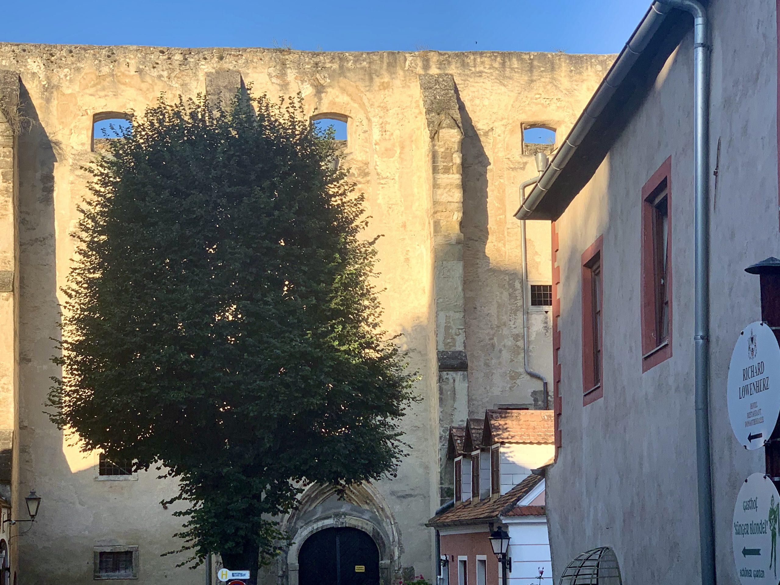 Ehemalige Klarissenklosterkirche in Dürnstein