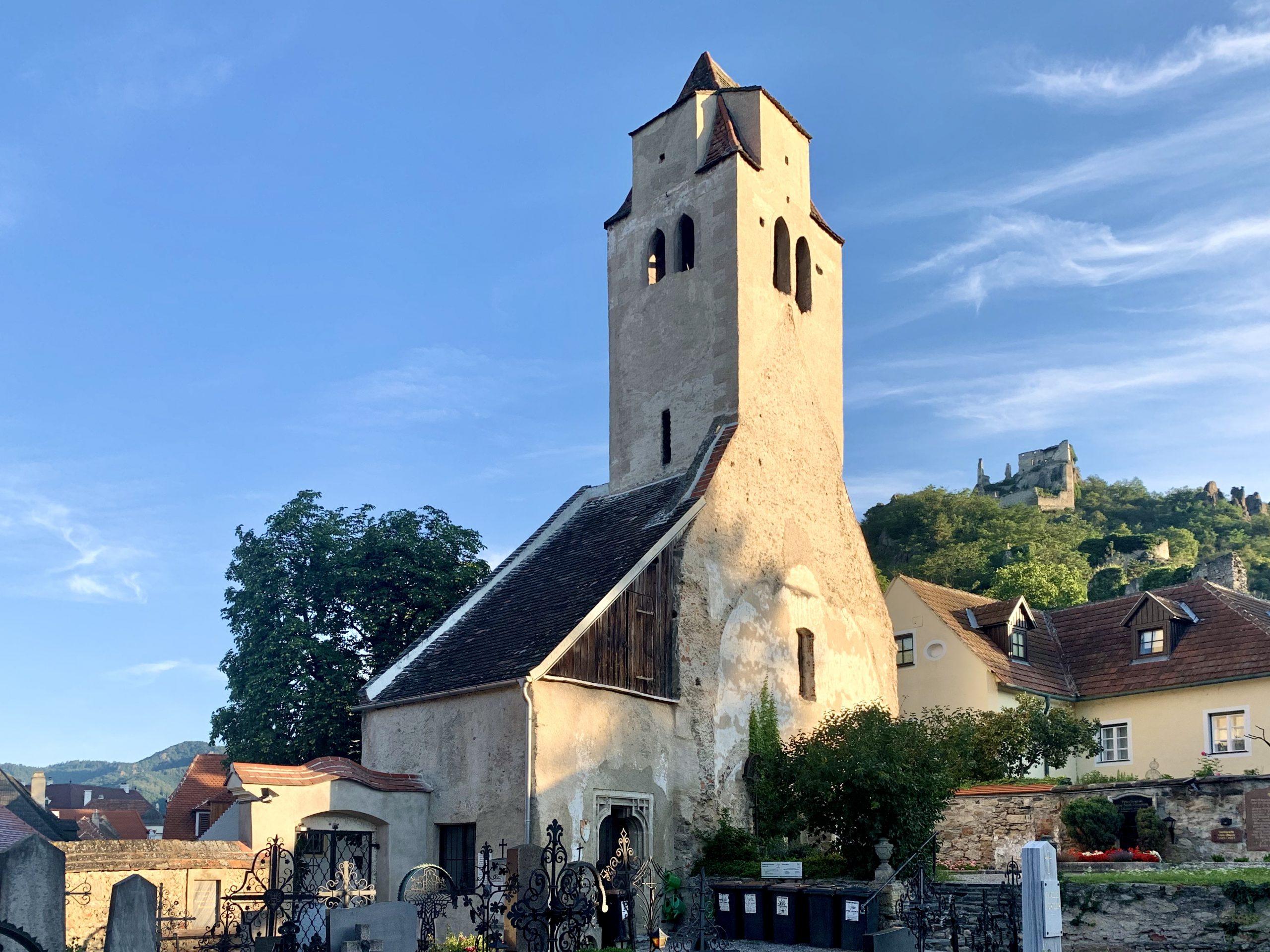Die Kunigunden Kirche von Dürnstein