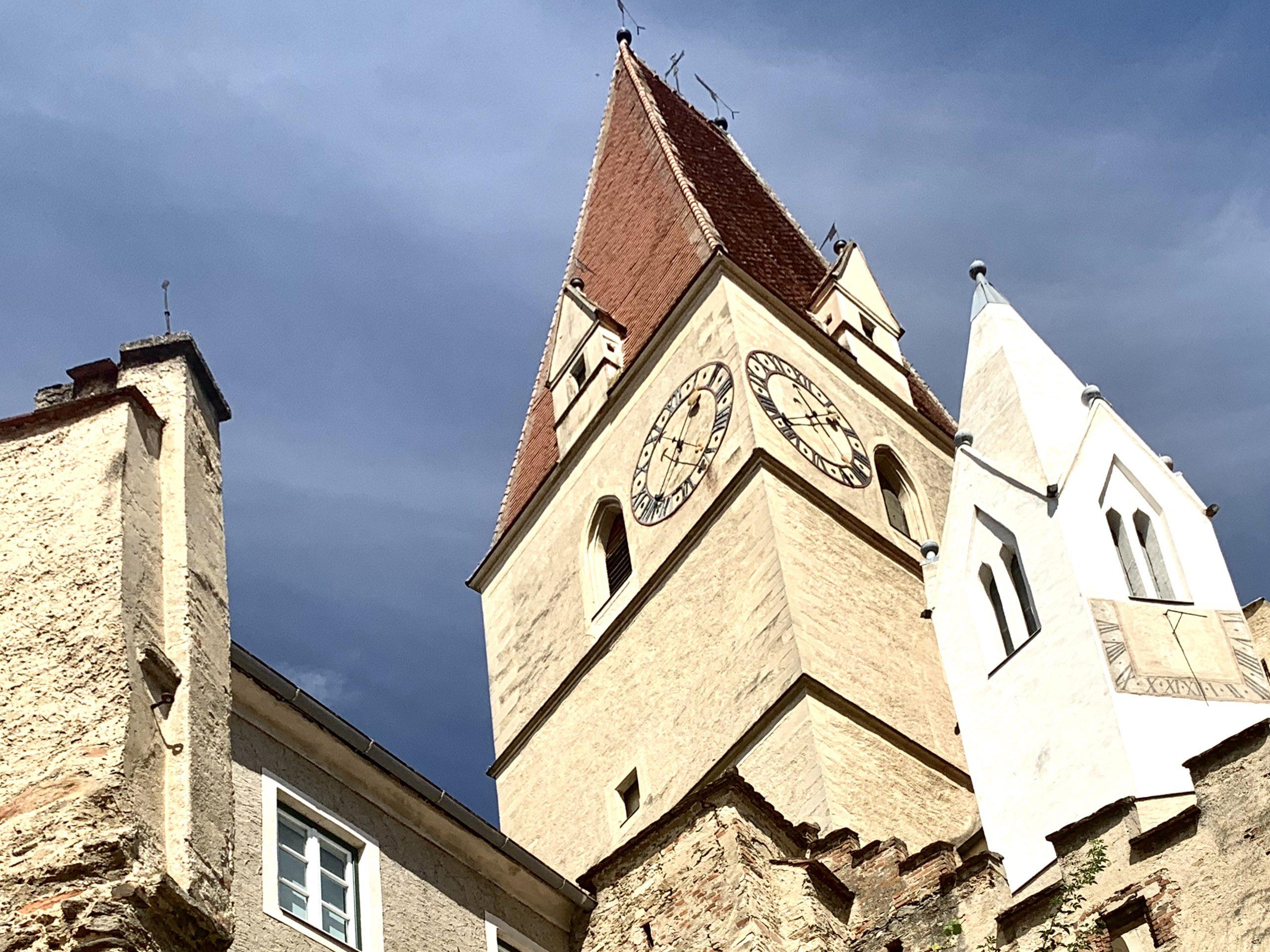 Türme der Pfarrkirche Weissenkirchen