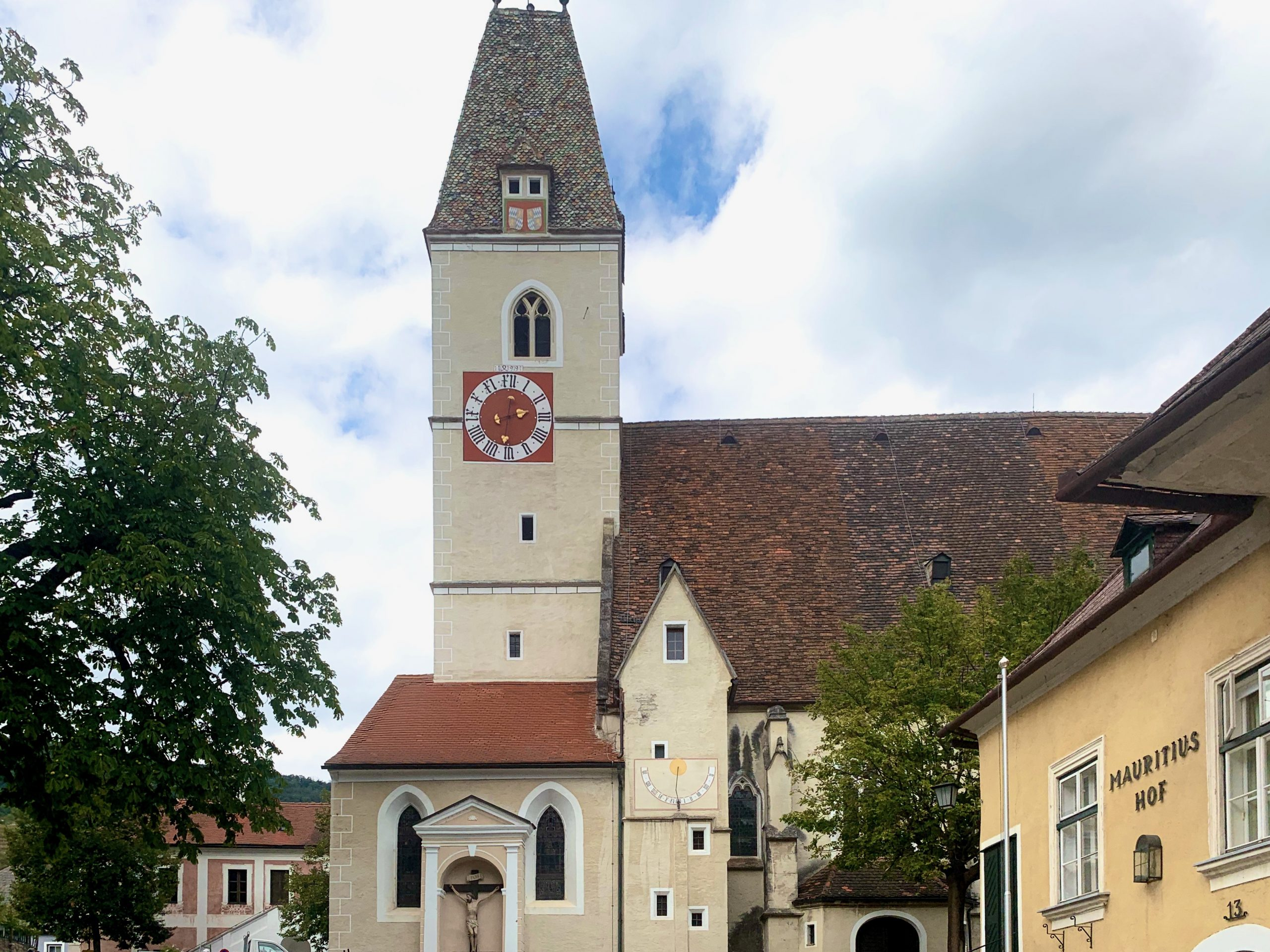 The Saint Mauritius Church in Spitz on the Danube